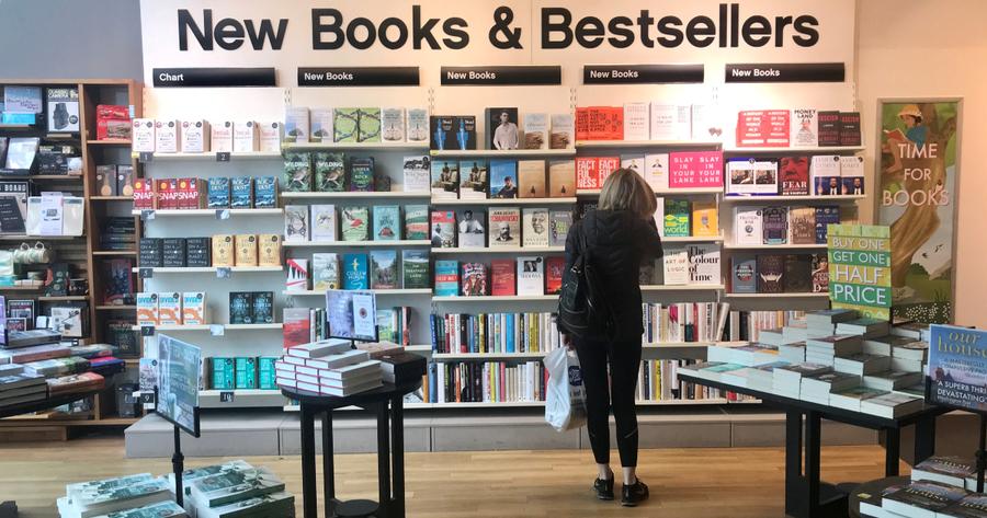 Las ventas de las librerías cayeron 28,3 % en Estados Unidos durante 2020