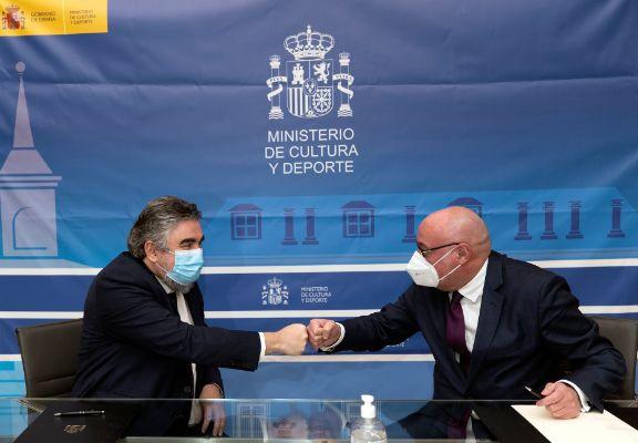 El Ministerio de Cultura de España y CEDRO firman un convenio de protección a la propiedad intelectual y a la creación literaria