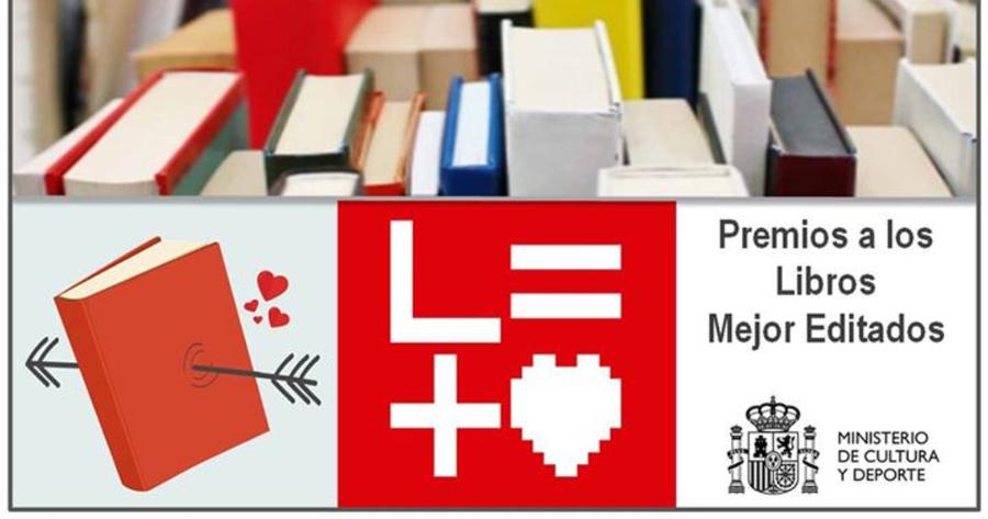 El Ministerio de Cultura de España convoca el Premio a los Libros Mejor Editados