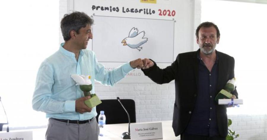 David Hernández Sevillano y Federico Delicado son los ganadores de los Premios Lazarillo 2020