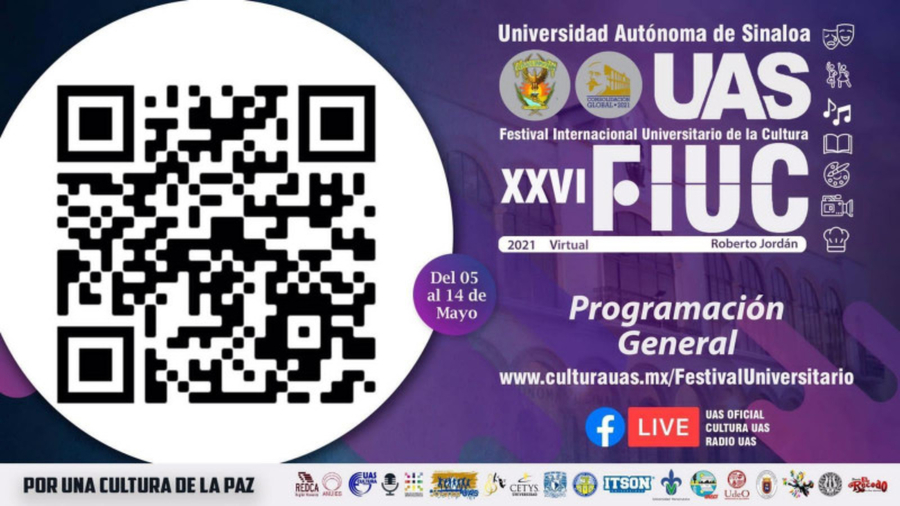 Sinaloa celebra el XXVI Festival Internacional Universitario de la Cultura