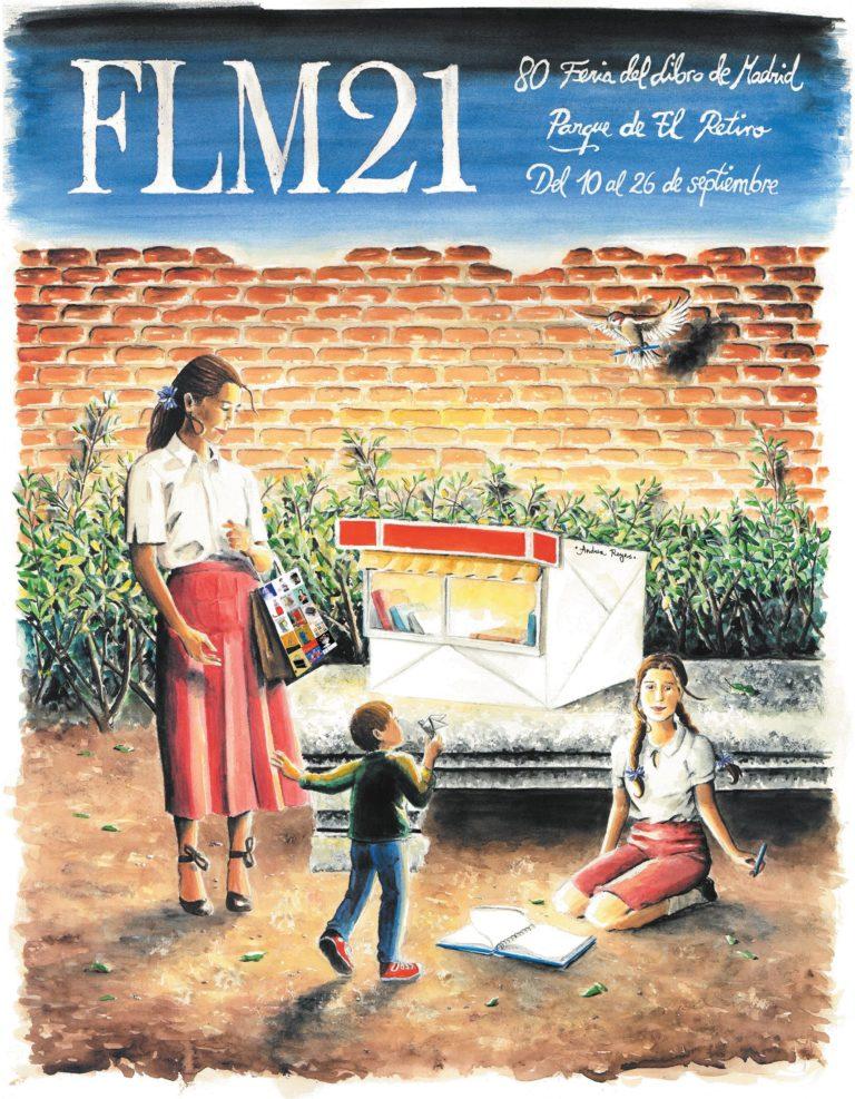 Cartel Feria del Libro de Madrid 2021