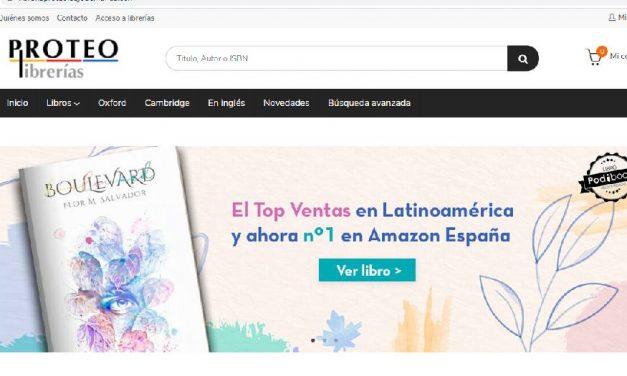 Proteo estrena nuevo e-commerce de libros bajo demanda