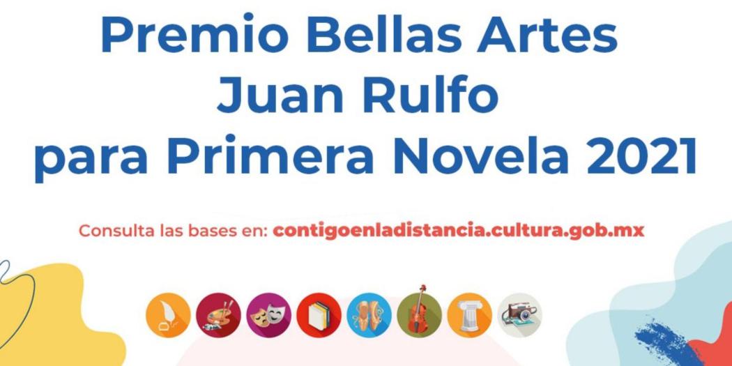 Abierta la convocatoria al Premio Bellas Artes Juan Rulfo para Primera Novela
