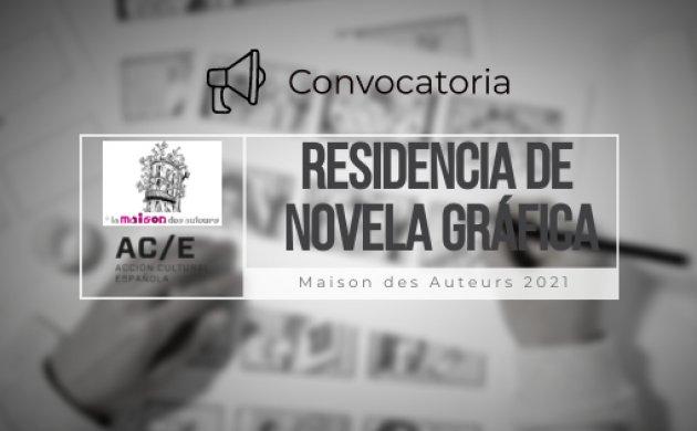 Residencia de novela gráfica en la Maison des Auteurs Angouleme 2022