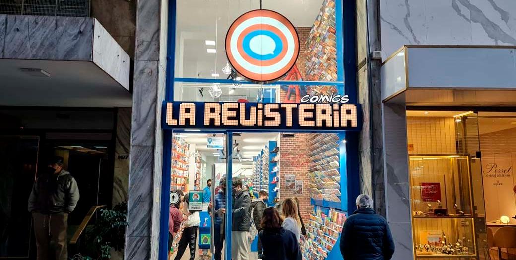 La Revistería abre una tienda en Rosario