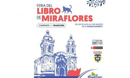 Hoy comienza la primera Feria del Libro de Miraflores