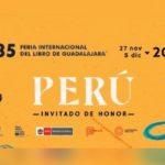 Presentada la delegación oficial de Perú en la FIL Guadalajara 2021