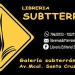 Tensión entre la librería editorial Subtterranea y la Cámara del Libro de La Paz
