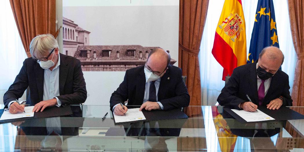 Jürgen Boos y Miquel Iceta firman la participación de España como invitado de honor en Frankfurt 2022