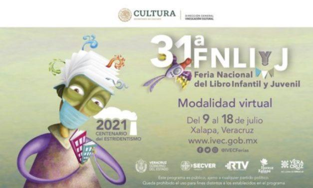 La Feria del Libro Infantil y Juvenil de Xalapa arranca mañana en formato virtual