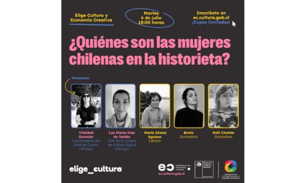 Mujeres chilenas en la historieta