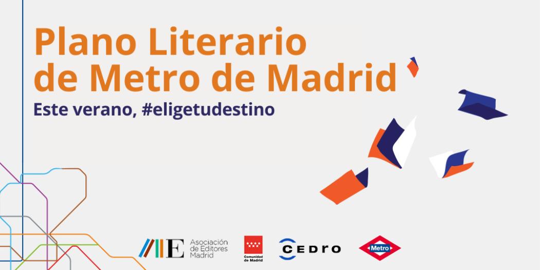 Elige tu destino, Plano Literario de Metro de Madrid
