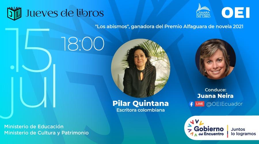 Pilar Quintana jueves de libros