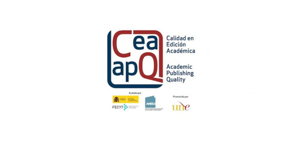 Dos colecciones obtienen el Sello de Calidad en Edición Académica 2021