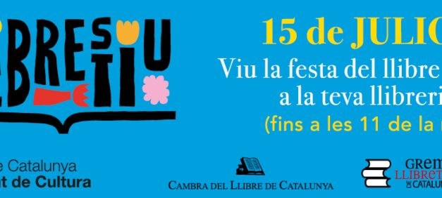 Más de un centenar de librerías catalanas celebrarán Llibrestiu este jueves