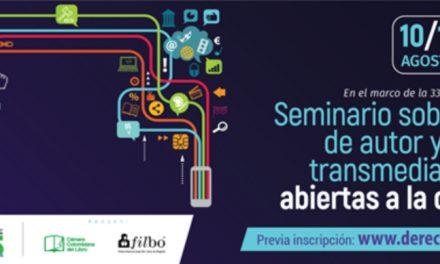 Seminario FILBO 2021 sobre derecho de autor y narrativas transmedia