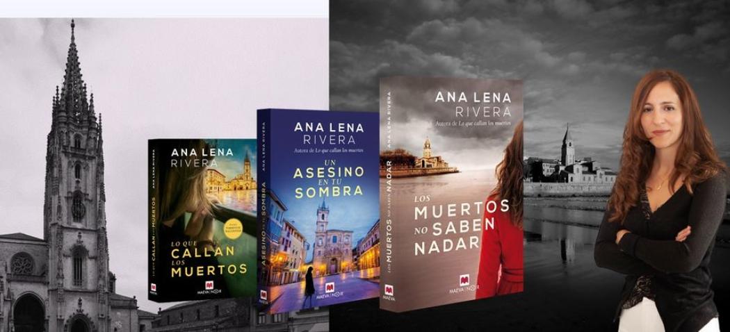 La saga policiaca de Ana Lena Rivera llega a Italia