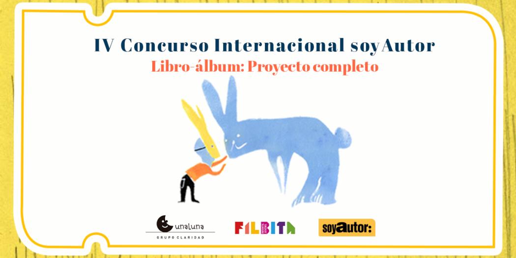 soyAutor anuncia su IV Concurso Internacional de libro-álbum
