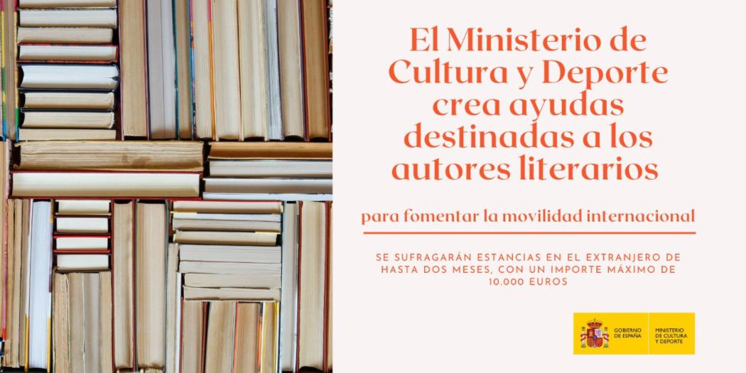 España crea una nueva línea de ayudas para autores literarios