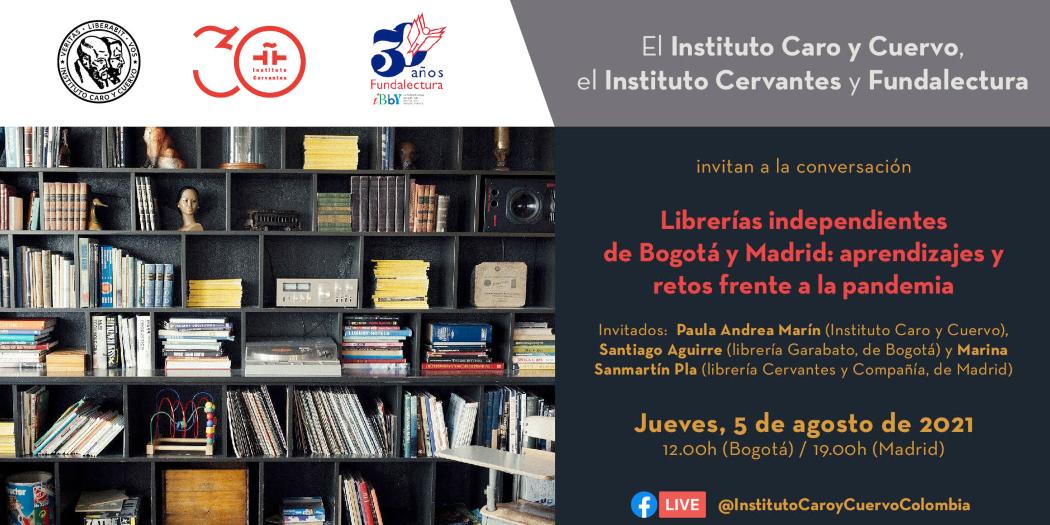 Librerías independientes de Bogotá y Madrid