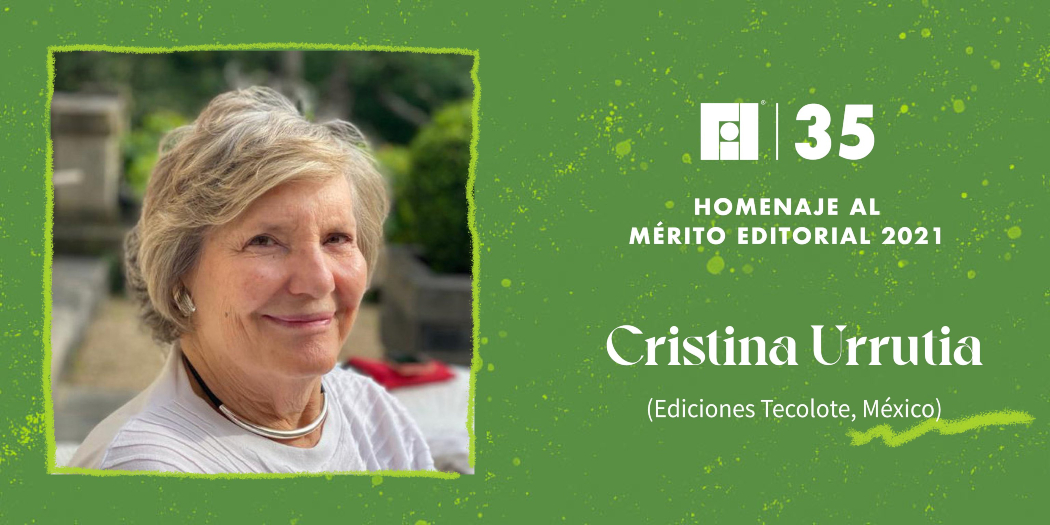 Cristina Urrutia recibirá el homenaje al mérito editorial de la FIL de Guadalajara