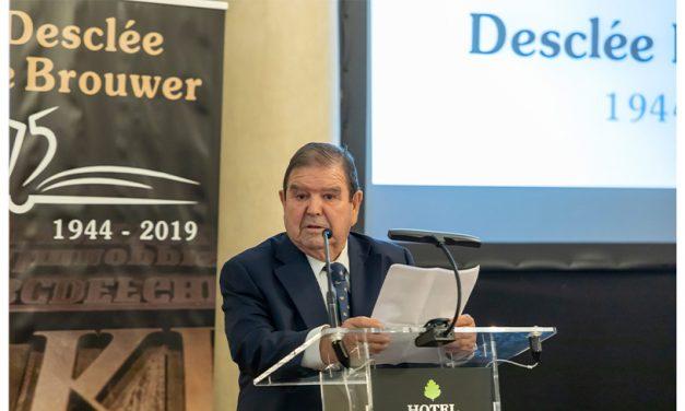 LIBER 2021 homenajeará a Javier Gogeascoechea Arrien, presidente de la editorial Desclée De Brouwer