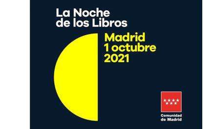 A dos días de La Noche de Los Libros en Madrid