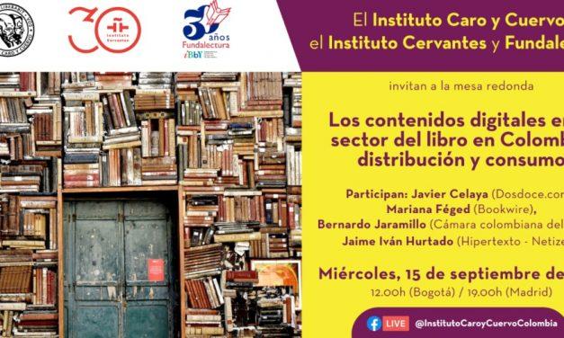 Contenidos digitales en el sector del libro en Colombia