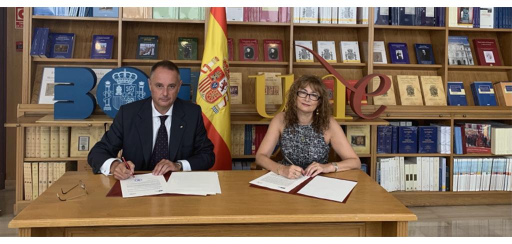 Se renueva el acuerdo de colaboración para que la Librería del BOE siga acogiendo el Espacio UNE