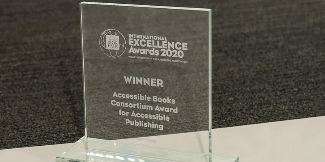 ¡Conoce a los finalistas del Premio Internacional a la Excelencia en la Edición Accesible 2021!