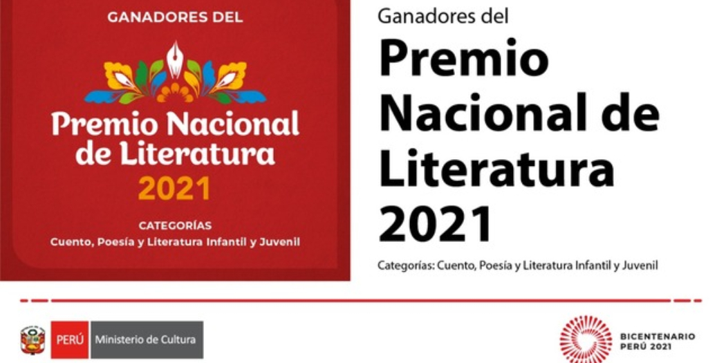 Conoce a los ganadores del Premio Nacional de Literatura 2021 de Perú