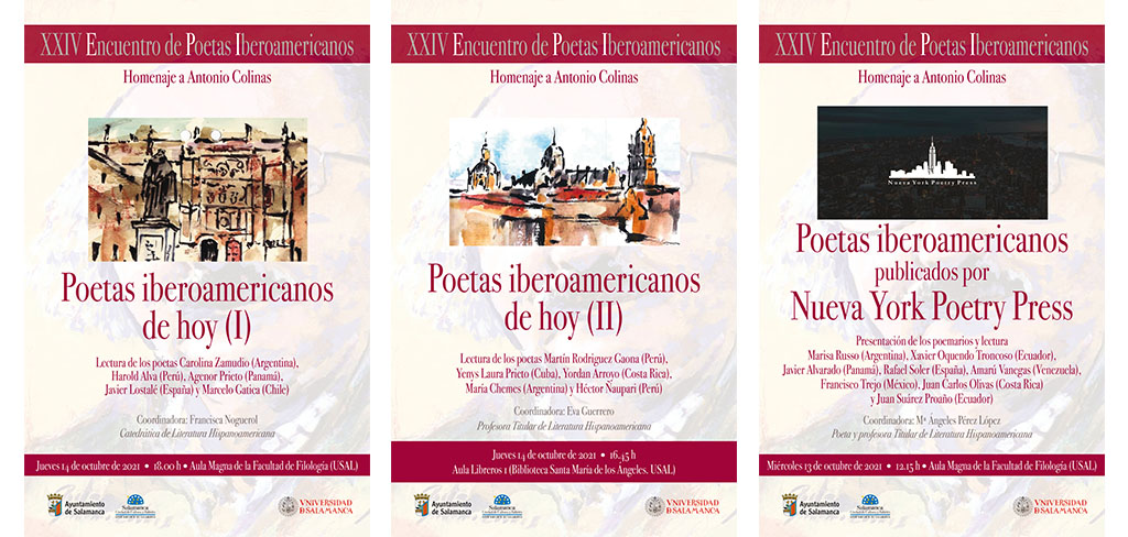 XXIV Encuentro de Poetas Iberoamericanos: Homenaje a Antonio Colinas
