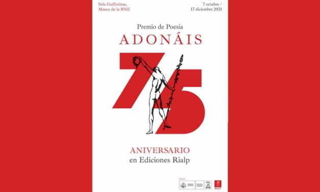 Rialp celebra 75 años hospedando el Premio Adonáis con una exposición en la Biblioteca Nacional
