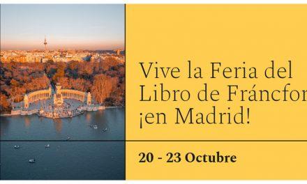 Actividades en Madrid con motivo de la Feria de Frankfurt 2021
