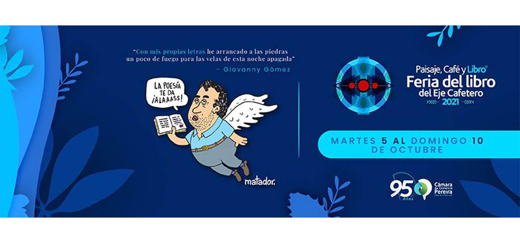 Paisaje, Café y Libro: Comienza la Feria del Libro del Eje Cafetero colombiana