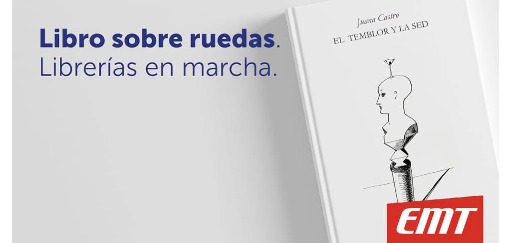 Juana Castro: protagonista del proyecto 'Libros sobre ruedas, librerías en marcha' de Málaga