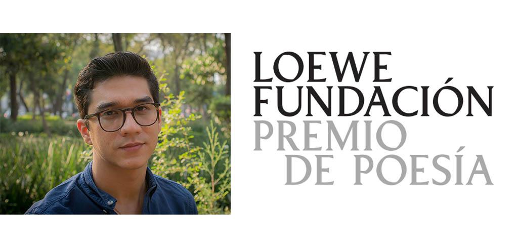 El poeta mexicano Orlando Mondragón, XXXIV Premio LOEWE de Poesía