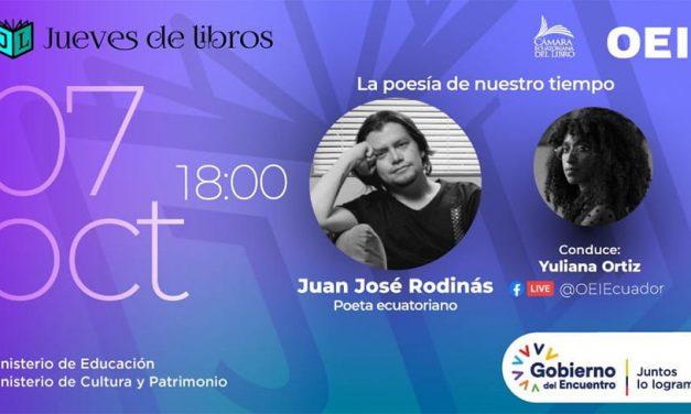 Poesía de nuestro tiempo: Yuliana Ortiz Ruano y Juan José Rodinás